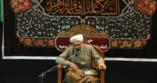 برگزاری هیأت هفتگی حوزه علمیه امام خامنه ای (مد ظله) ارومیه در آستانه تشرف به مشهد مقدس