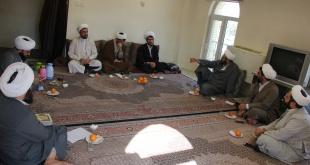 جلسه اساتید حوزه علمیه امام خامنه ای (مد ظله العالی) ارومیه برگزار گردید.