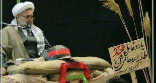 مراسم شبی با شهداء با سخنرانی حجت الاسلام نیساری و مداحی حاج حسین فرازی برگزار گردید.