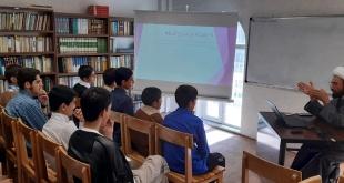 دومین جلسه کارگاه آشنایی با علوم و کتب حوزوی توسط استاد حجت الاسلام دکتر شیری برگزار شد.