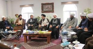 جلسه هماندیشی مدیران حوزه های علمیه استان برگزار شد.