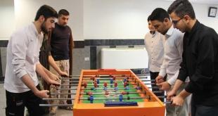مسابقات ورزشی طلاب گرامی به مناسبت هفته بسیج