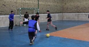 برگزاری مسابقات ورزشی طلاب به مناسبت هفته بسیج